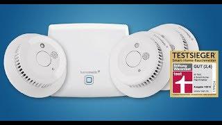 Starter Set Rauchwarnmelder vorgestellt | Homematic IP