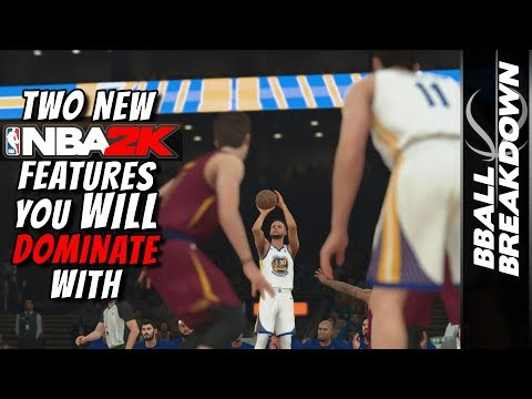 Two NEW NBA 2K18 Features You WILL DOMINATE With