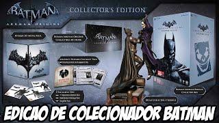 Unboxing Batman Arkham Origins edição de colecionador, a que eu mais gostei até agora