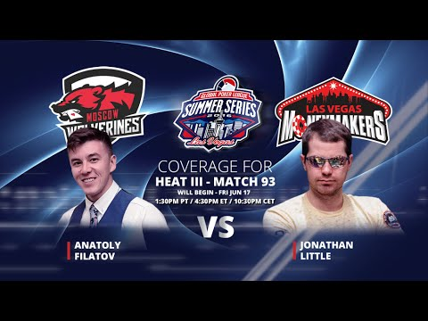 GPL Summer Series - Jonathan Little vs. Anatoly Filatov - Live from The Cube - W11M93