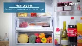 indesit ld85f1w fridge freezer