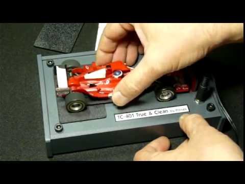 Slot Car Tyre Truer & Cleaning tool for 1/32 Scale Cars
