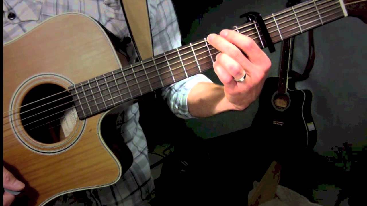 How To Play Redeemed By Big Daddy Weave Guitar Tutorial Youtube