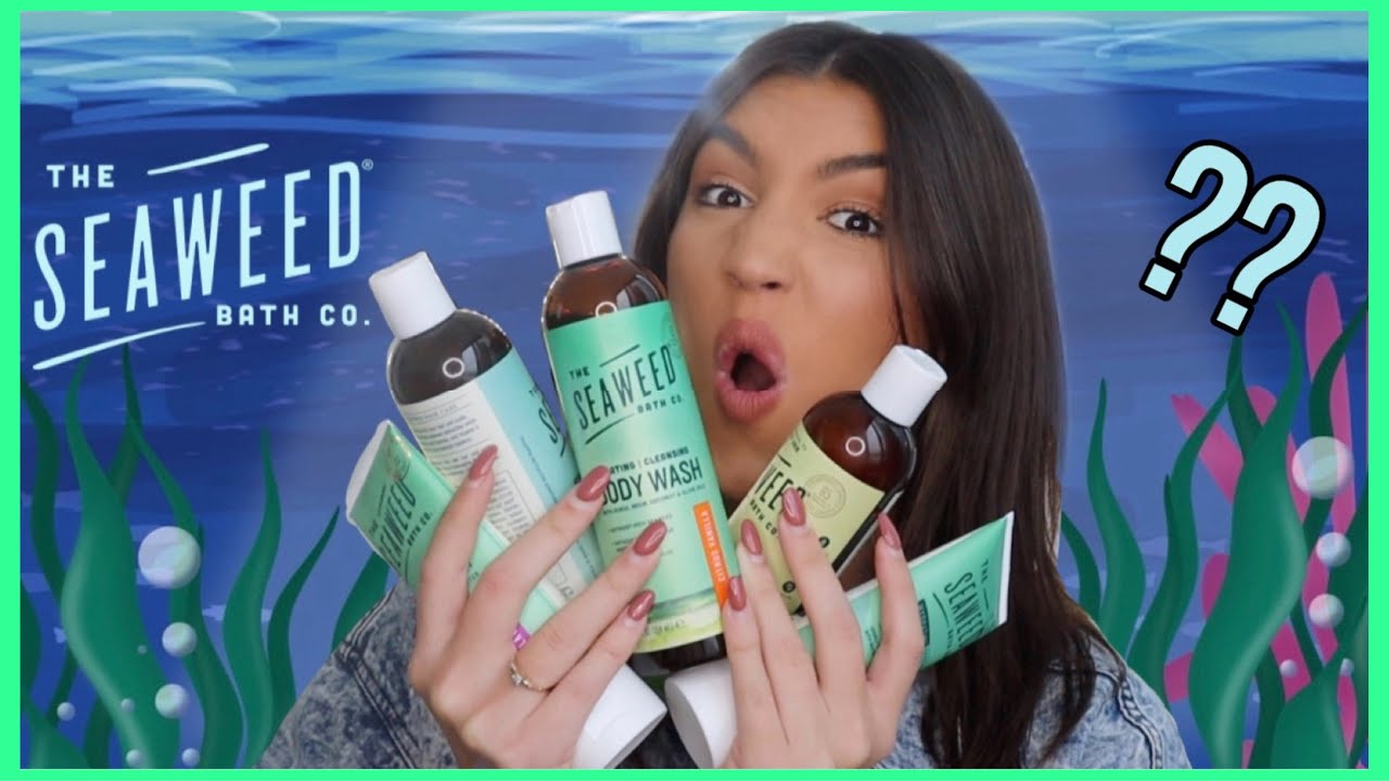 Honest Review On The Seaweed And Bath Co Products Youtube