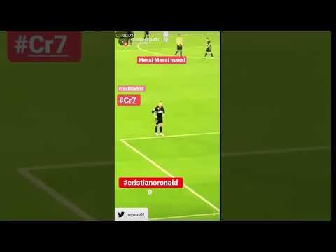 Reacción De Cristiano Ronaldo A Gritos De Messi Messi // Real Madrid Vs Al Jazira