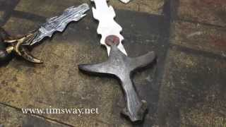 how to make a toy sword from scrap plywood