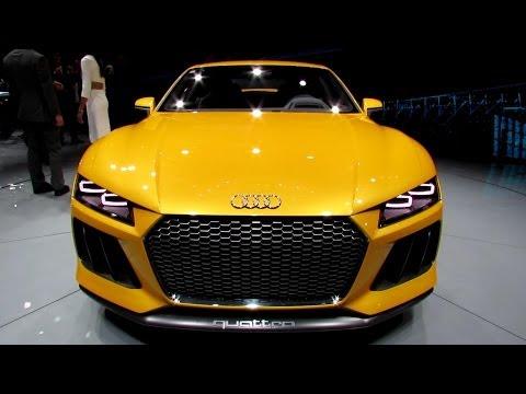 2015 Audi Sport Quattro Concept - Exterior Walkaround - 2013 Frankfurt Motor Show