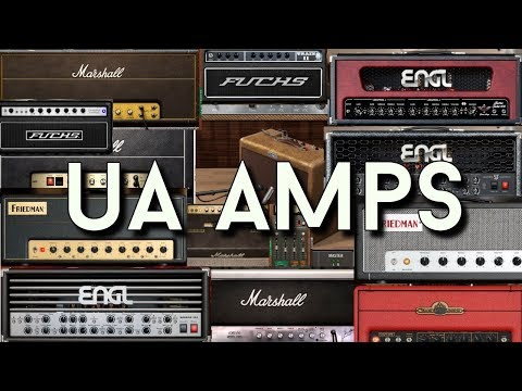 Universal Audio Amp-Simulations - all of them tested and compared!