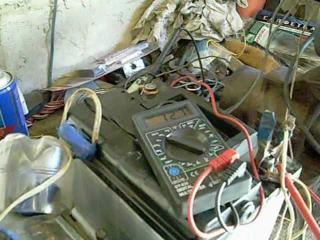 Проверка снятого генератора -