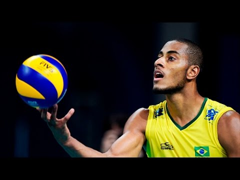 Top 10  Best Volleyball Spike | Ricardo Lucarelli (Brazil Volleyball)