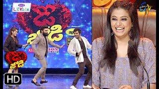 Sudeer&Rashmi   Funny Task   Dhee Jodi   12th December 2018   ETV Telugu