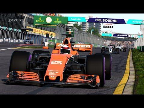 第1戦 キャリア2年目 決勝 F1 2017 [PC 4K]  本物志向の方へ オーストラリア編