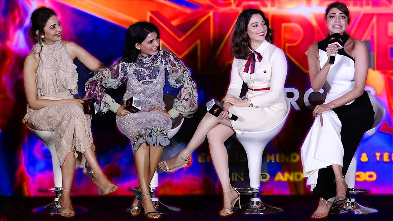 Download Vijay, Ajith பெயரை சொல்லி மாஸ் காட்டிய Kajal Aggarwal, Tamannaah, Samantha, Rakul Preet Singh