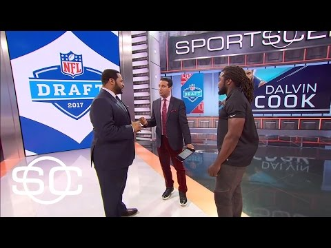 Jerome Bettis Gives Dalvin Cook NFL Draft Advice | SportsCenter