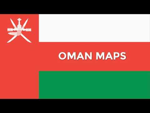 Oman Map: Oman PowerPoint maps