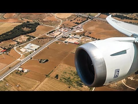 BEST ENGINE VIEW EVER | LATAM Boeing 787-9 Takeoff from Madrid Airport (MAD)