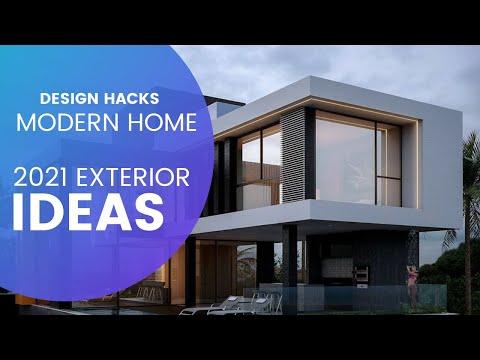 Simple Exterior Modern Makeover Ideas