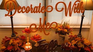 Decorate My Sofa Table For Fal…
