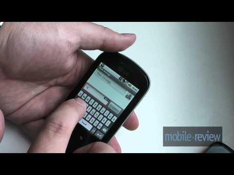 LG Optimus Me P350 Demo
