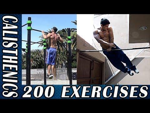 200 Calisthenics Exercises of Every Kind