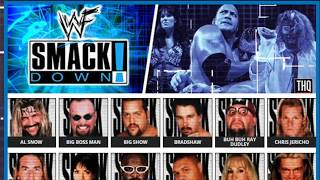 WWF Smackdown! PSX Main Theme - The choice of superstars