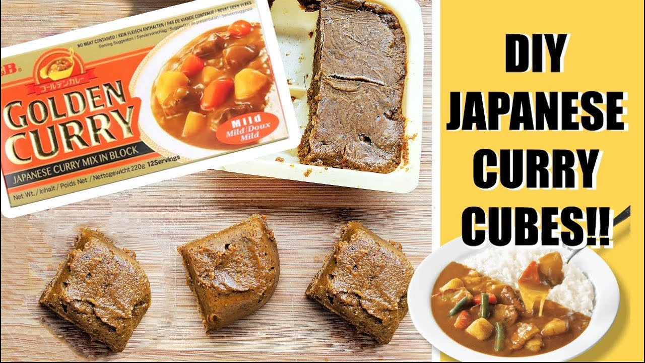 Japanese Curry Cube Recipe Vegan Gluten Free Oil Free Youtube