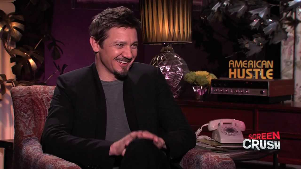 jeremy renner interview talking american hustle and the