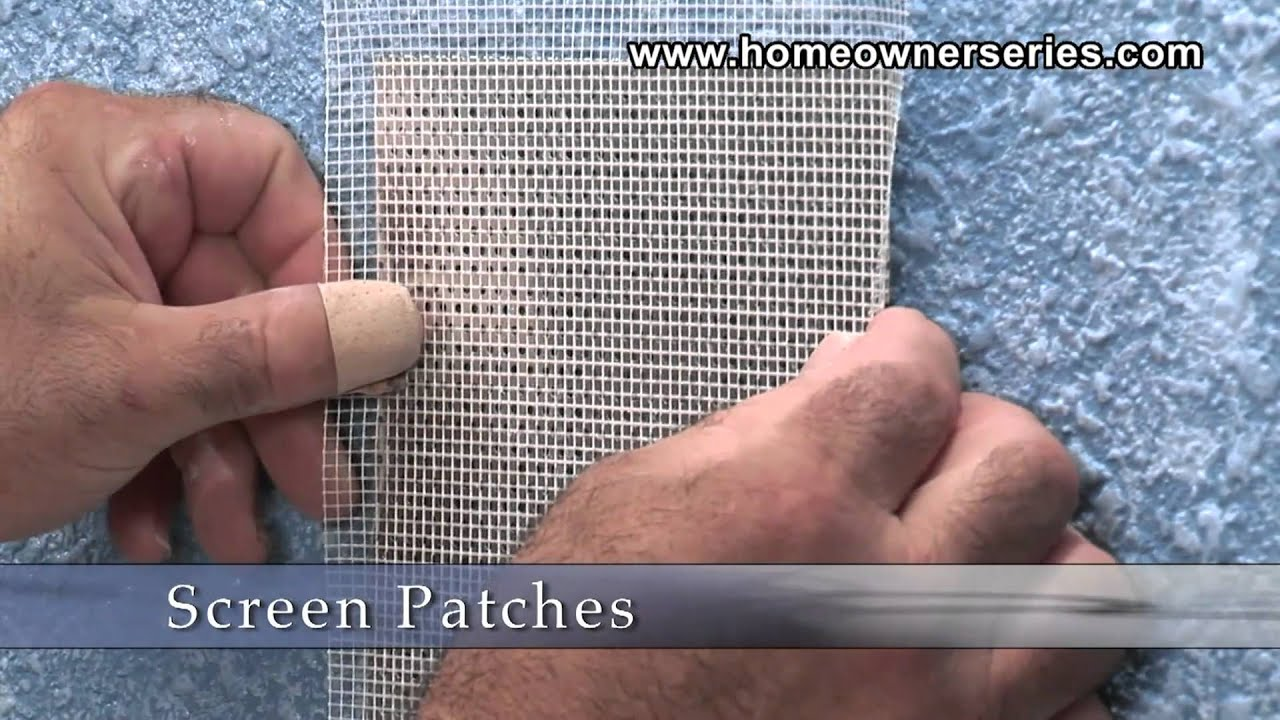 How to Fix Drywall Screen Patchs Materials Drywall Repair