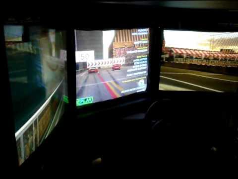 Ferrari F355 Challenge Long Beach Ending Sega Arcade Video Game