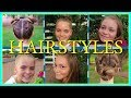 6 EASY BACK TO SCHOOL HAIRSTYLES!  |  BACK TO SCHOOL!