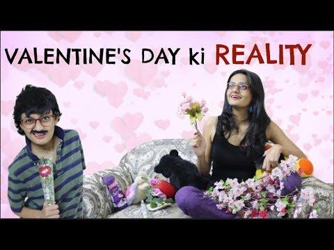 Valentine's Day ki REALITY | Boys v/s Girls on Valentine's Day