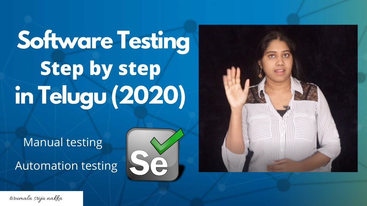 Download Software Testing:  Step-By-Step Process in 2020 TELUGU | software testing types
