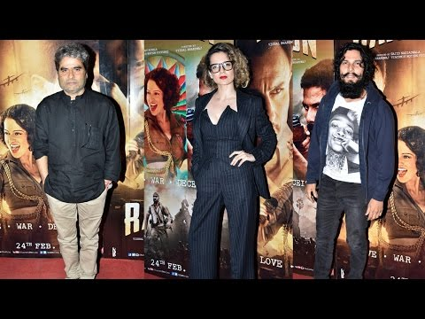 Rangoon Movie 2017 Special Screening | Kangana Ranaut, Randeep Hooda, Vishal Bhardwaj