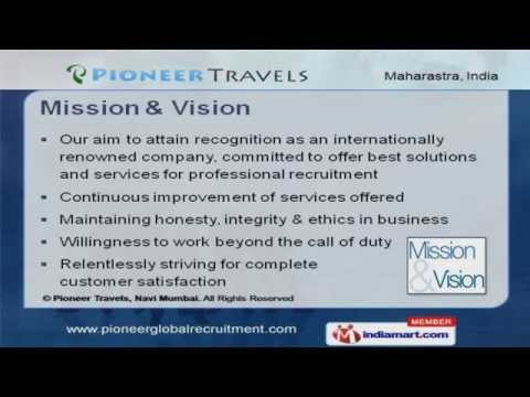 International Manpower Recruitment Services by Pioneer Travels, Navi Mumbai, Navi Mumbai