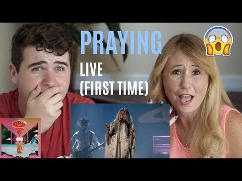 Kesha - Praying (Live Performance @ YouTube) | REACTION w/ MY MOM