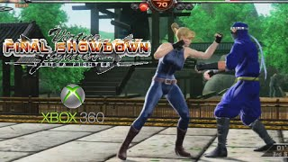 Virtua Fighter 5 Final Showdown playthrough (Xbox 360)