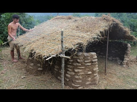 Primitive Technology: Stone House Part 14