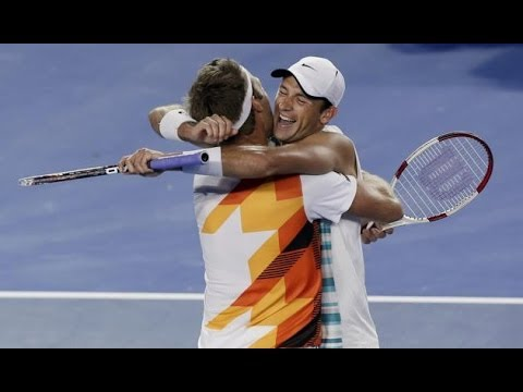 (HD) Lindstedt/Kubot vs Butorac/Klaasen Australian Open 2014 FINAL - HIGHLIGHTS