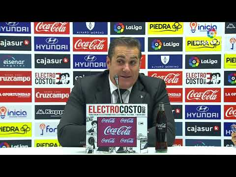 Rueda de prensa de José Ramón Sandoval tras el Córdoba CF vs Extremadura UD (4-2)