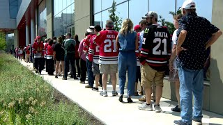 Visitation of Blackhawks Great Stan Mikita