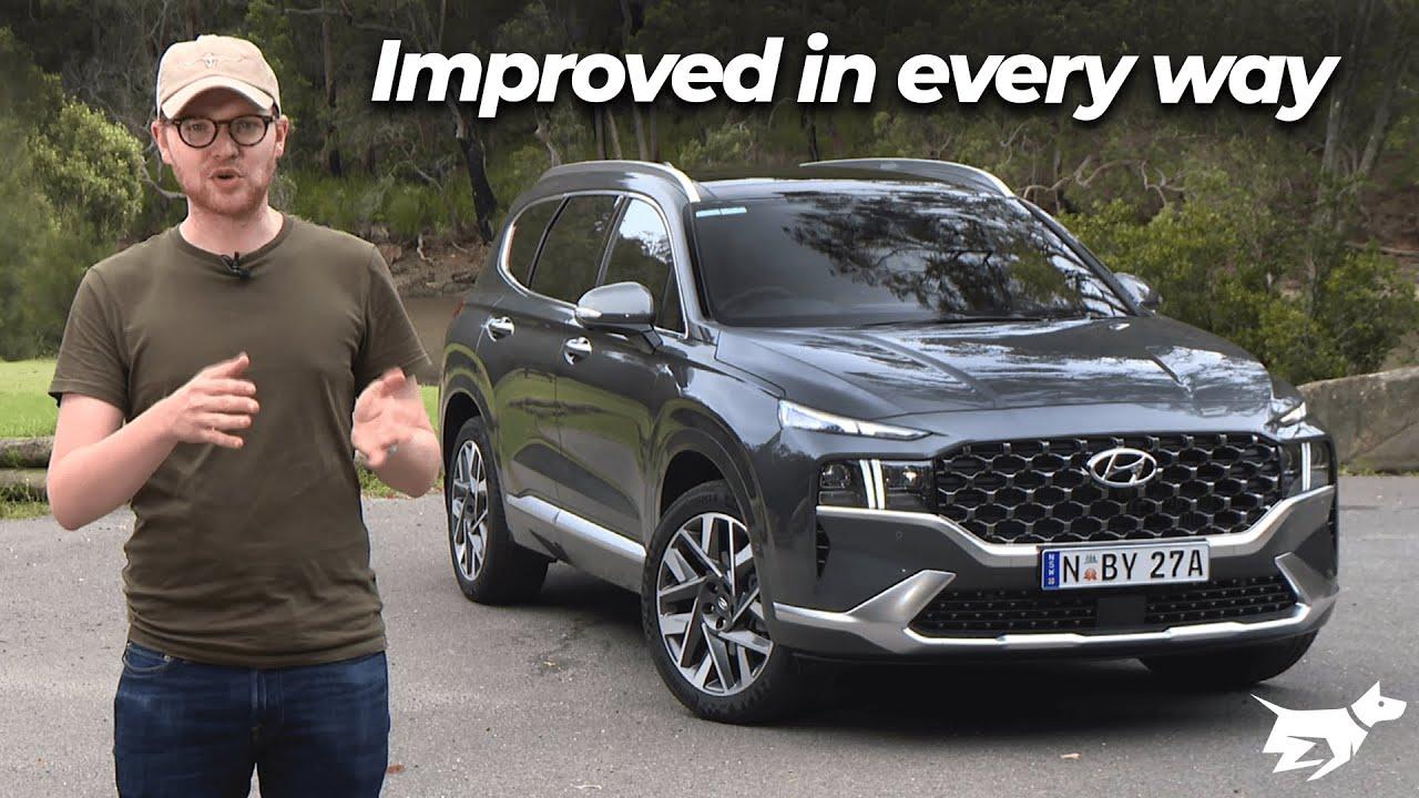 Hyundai Santa Fe 2021 review | Chasing Cars