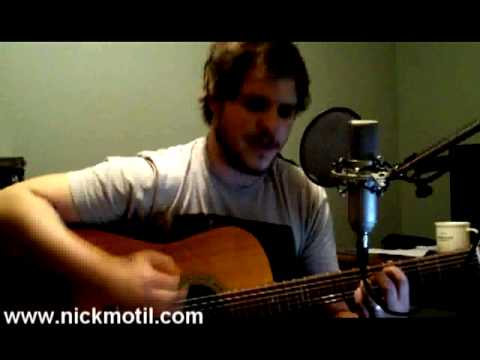 Chase This Light - Jimmy Eat World - acoustic cover by: Nick Motil