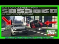 GTA 5 Pacific Standard Heist Glitch With Helicopter And Street Cars (NEW METHOD INSANE)