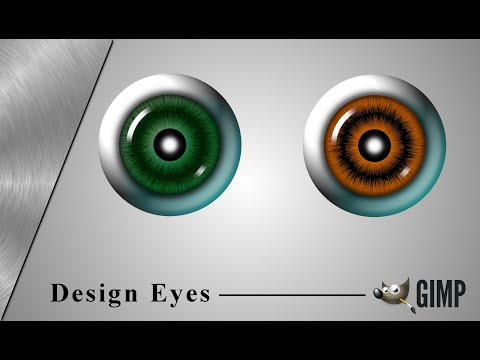 How To Design Brown Eye In Gimp2.10 / Logo Design /Photoshop Alternative thumbnail