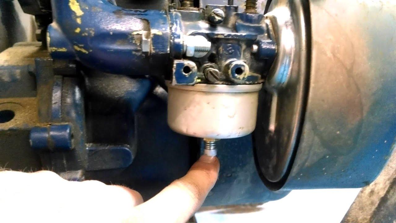 diy how to adjust a tecumseh carb on an hm80 motor