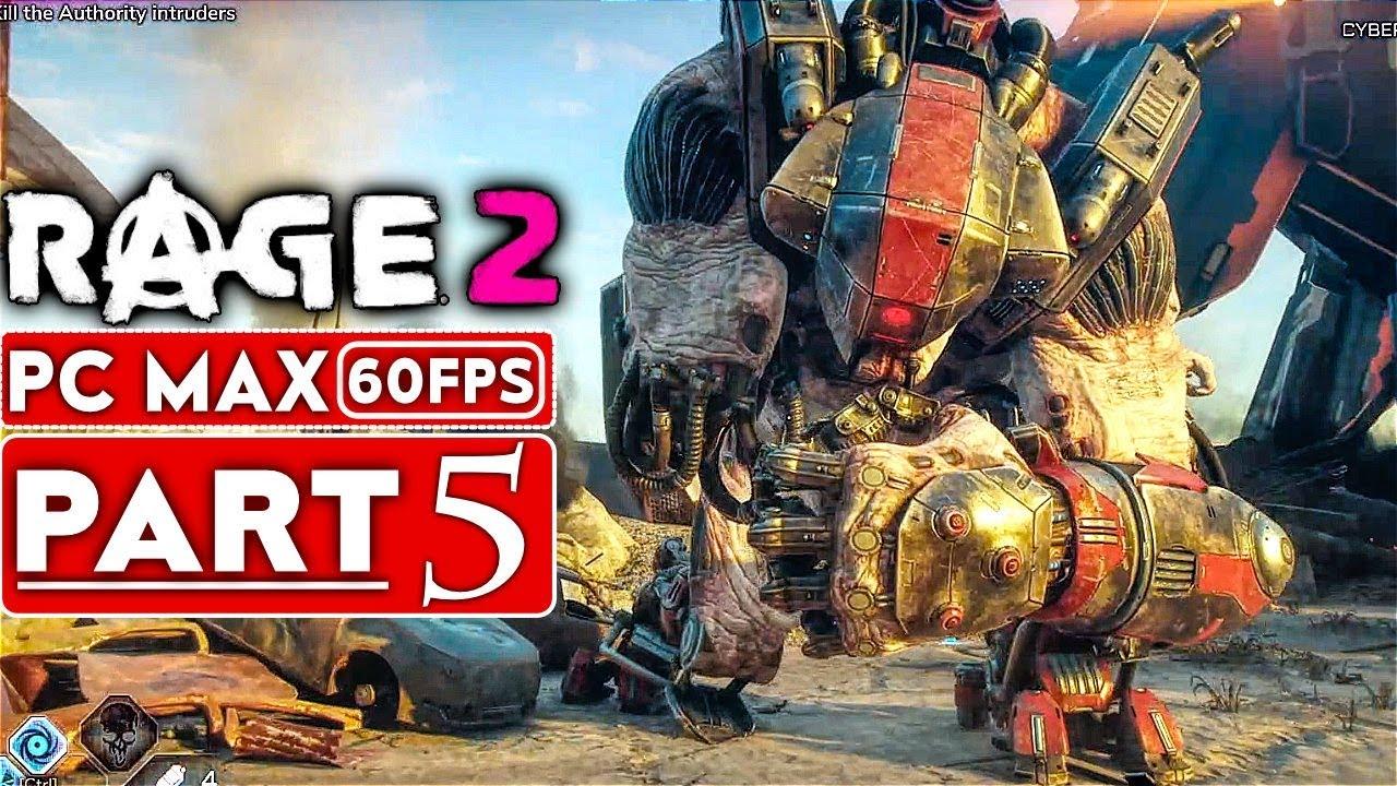 RAGE 2 Gameplay Komplettlösung Teil 5 [1080p HD 60FPS PC MAX EINSTELLUNGEN] - Kein Kommentar + video