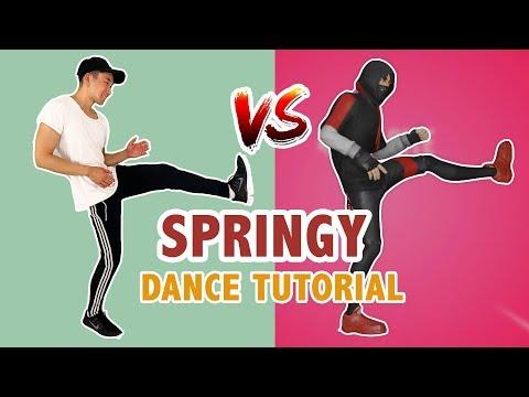 Springy Emote (Dance Tutorial)   Fortnite Dance