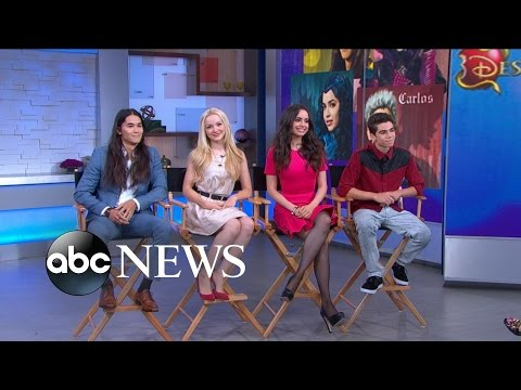 'Descendants' Disney Original Movie: FULL cast interview