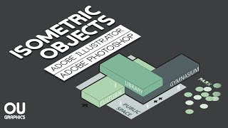 Isometric Objects in Adobe Illustrator and Adobe Photoshop