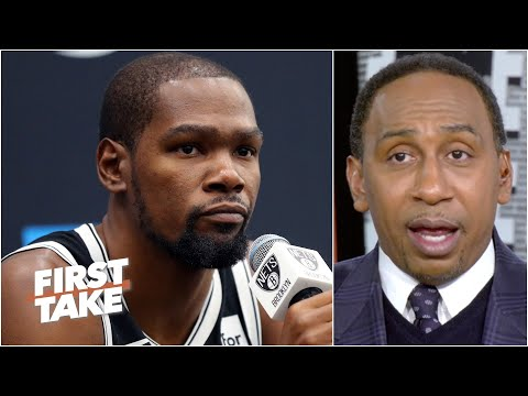 Stephen A.: Kevin Durant is on the clock   First Take